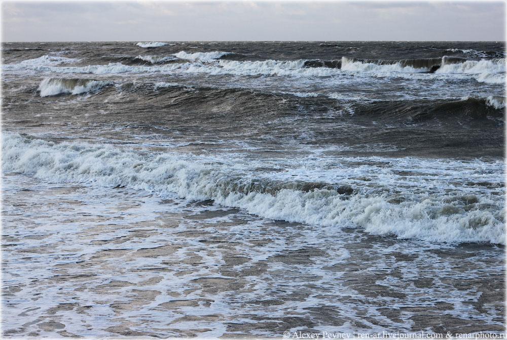 Когда в старом Кранце волнуется море... Балтика.